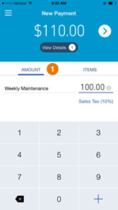 GoPayment add payment amount