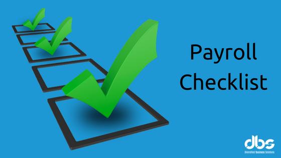Payroll Checklist