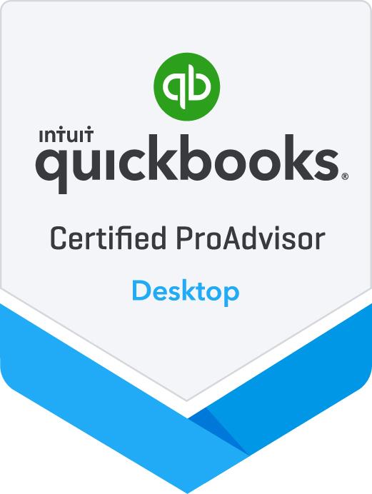 Intuit QuickBooks Certified ProAdvisor for Desktop