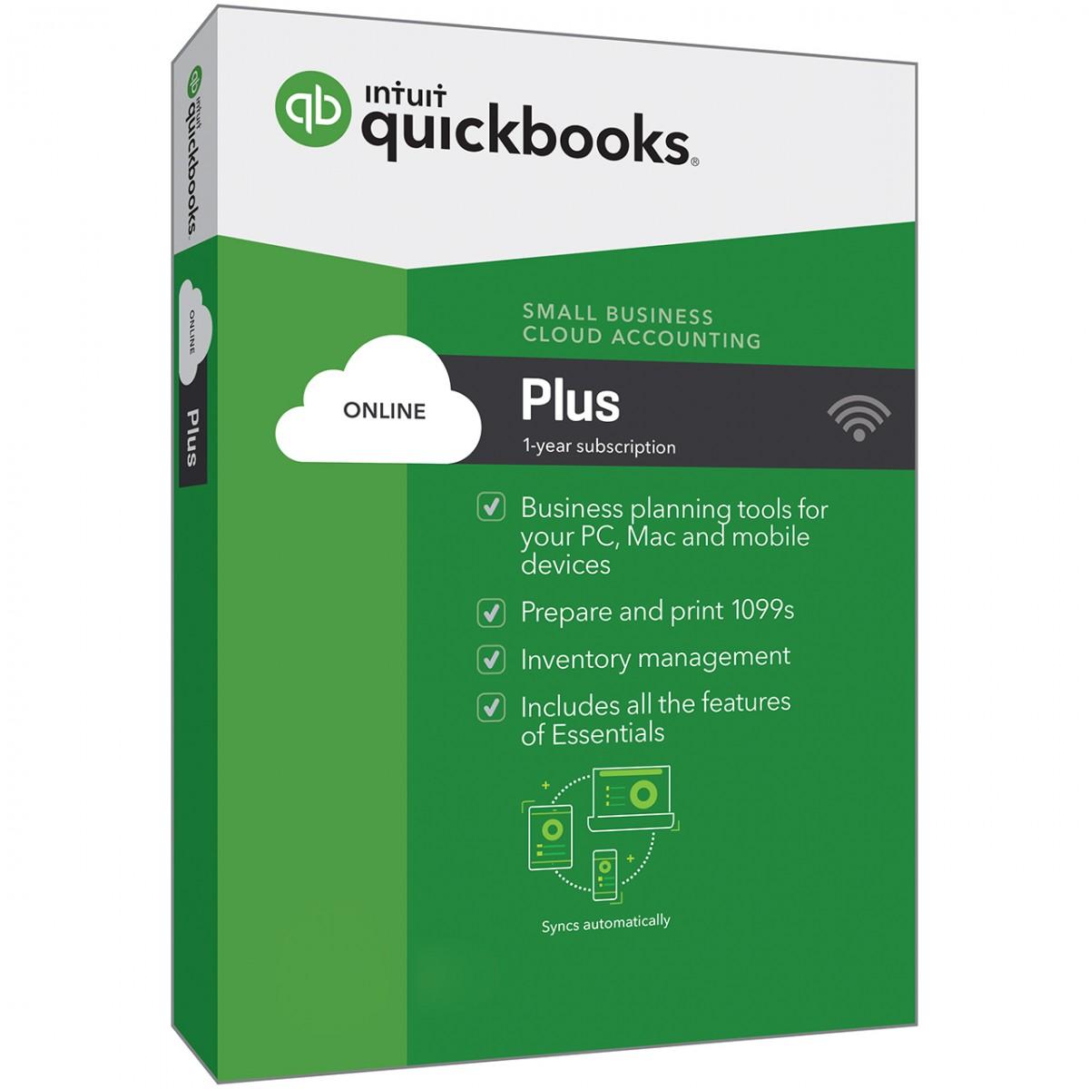 Intuit QuickBooks Online Plus 2017